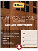 canyon ridge collection care and maintenance garage doors