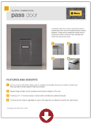 pass door brochure overhead doors