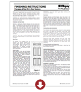 entry door finishing instructions entry doors