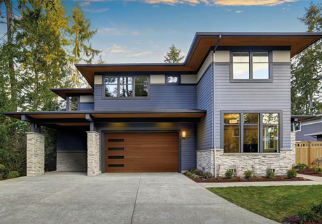 Canyon Ridge® Collection Modern Series garage doors