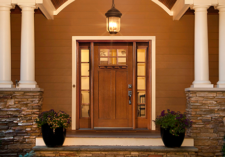 CRAFTSMAN collection entry doors
