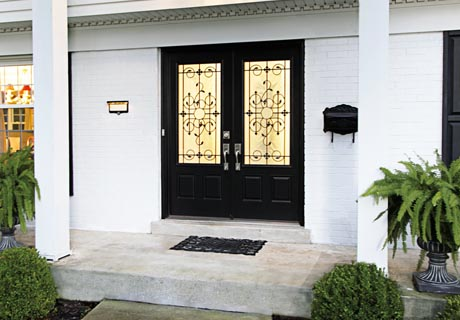 SMOOTH fiberglass collection entry doors