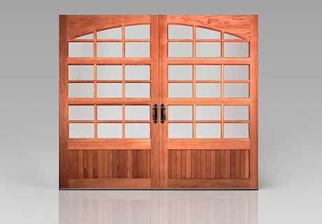 RESERVE® WOOD collection CUSTOM SERIES garage doors