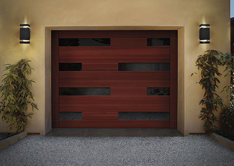 Reserve® Wood Collection Modern Series garage doors