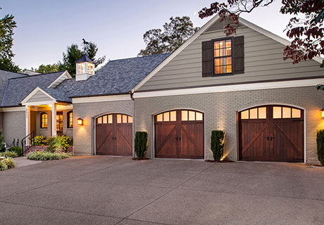 Reserve® Wood Limited Edition garage doors