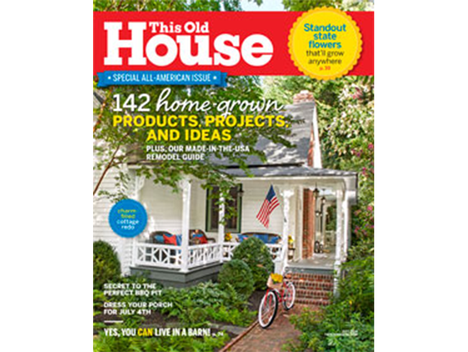 Magazine Cover This old house