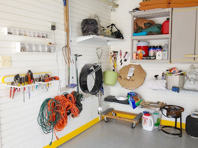 Garage Organization Photo