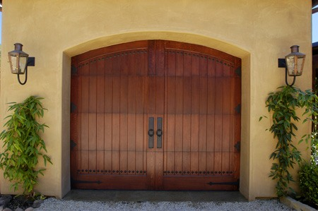 Clopay carriage house style wood garage door