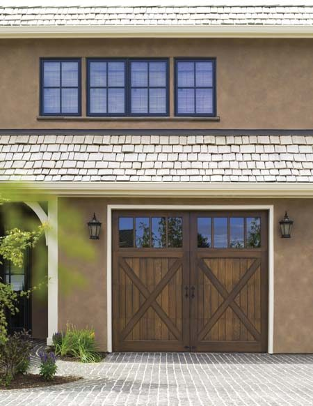 Clopay Reserve Collection Limited Edition Series wood garage door