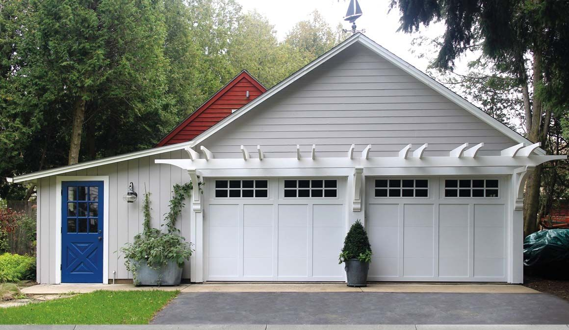 before after canyon ridge modern canyon ridge modern series insulated style garage doors
