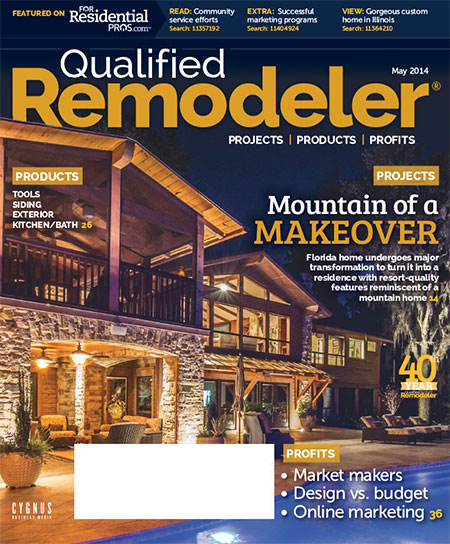 Magazine cover Qualified Remodeler