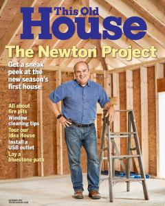 October 2017 issue of This Old House