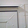 welded aluminum frame - pass door