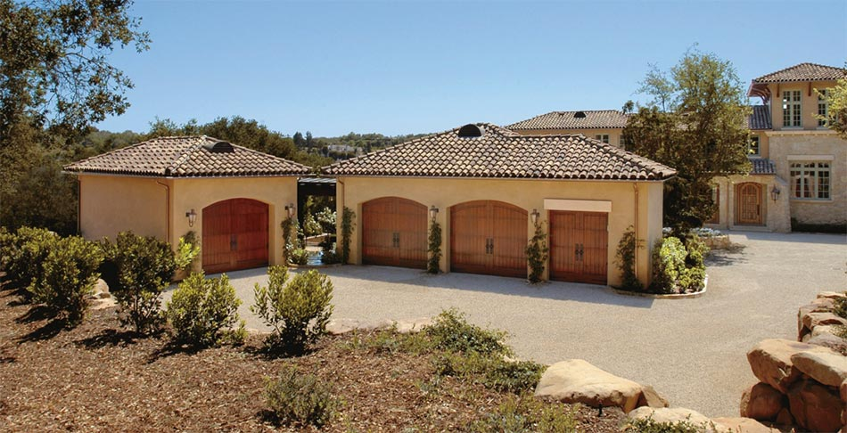 Creating curb appeal with new garage doors