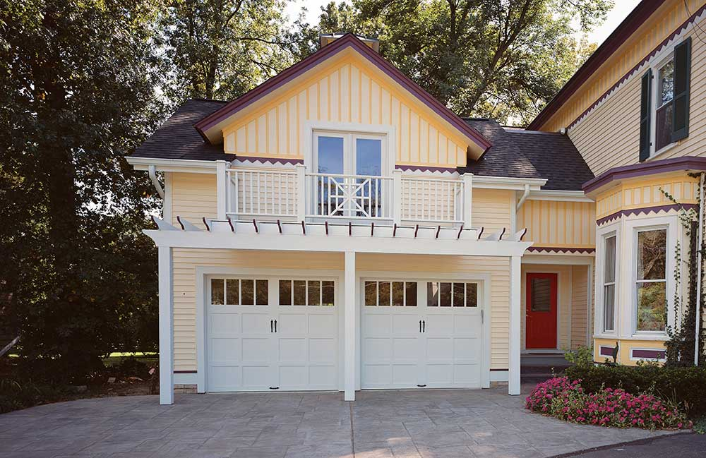 Garage Doors For Victorian Style Homes