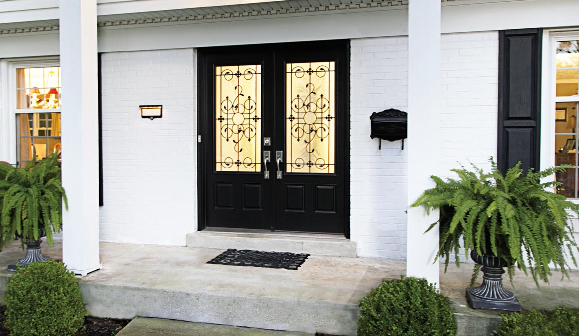 Fiberglass Entry Doors Traditional Or Modern Style Clopay