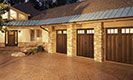 Canyon Ridge Collection Brown Garage Doors