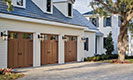 Canyon Ridge Collection Limited Edition Series Garage Doors with White Home