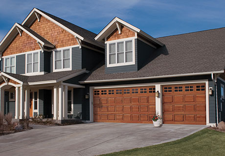 Natural Wood Panel Garage Doors Clopay Classic Wood Collection