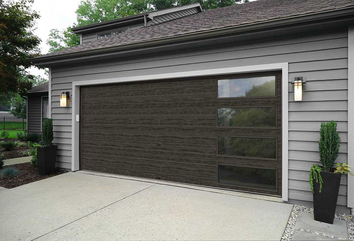 MODERN STEEL GARAGE DOORS & Modern Steel Garage Doors - Clopay® Modern Steel Collection