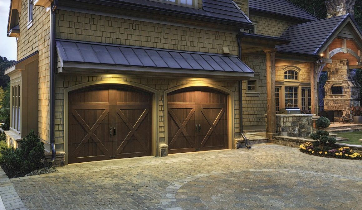 Dark Brown Reserve Wood Collection Limited Edition Series Garage Doors ...