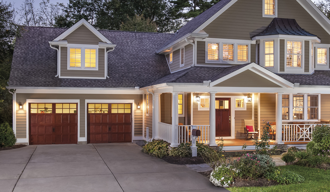 2 Car Reserve Wood Collection Limited Edition Series Garage Doors ...