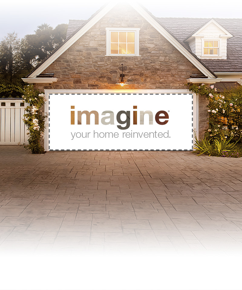 Imagine Your Home Reinvented Clopay Garage Doors